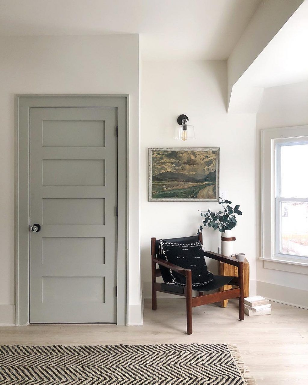 Casual Saturday What S In A House Name Willow An Inspiring Interior Paint Combination Weekend Sales And More Interior Paint Combinations Interior Door Colors Grey Interior Doors