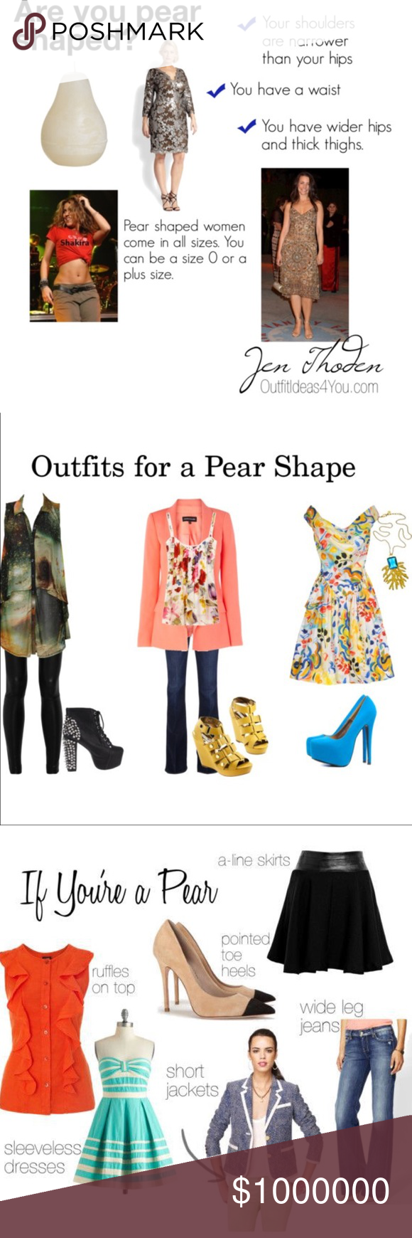 🍐Pear Shaped Body Types 🍂Best looks for the pear shaped body frame ...