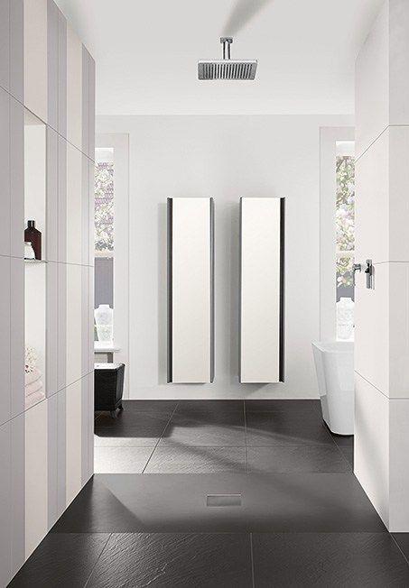 Quaryl Shower Tray Squaro Infinity By Villeroy Boch Shower Tray Bathroom Design Villeroy Boch