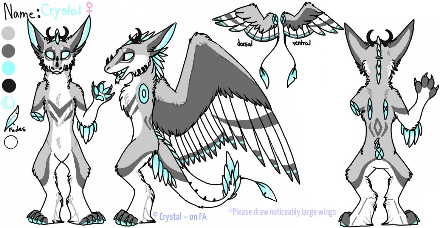 Crystal Dutch Angel Dragon Reference Sheet By Crystal Dutch Angel Dragon Furiffic Dragon Fursuit Furry Art Fursuit Furry