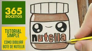 Nutella Kawaii Cute Kawaii Drawings Kawaii Doodles