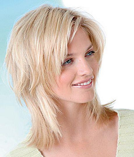 Frisur Mittellanges Haar Stufig Mehr Frisuren Frisuren