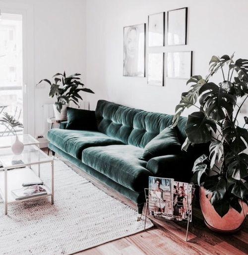 Image About Beautiful In I N T E R I O R By My Living Room Scandinavian Living Room Green Trendy Living Rooms