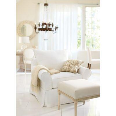 Vintage vogue club chair slipcover from ballard designs i ballarddesigns com