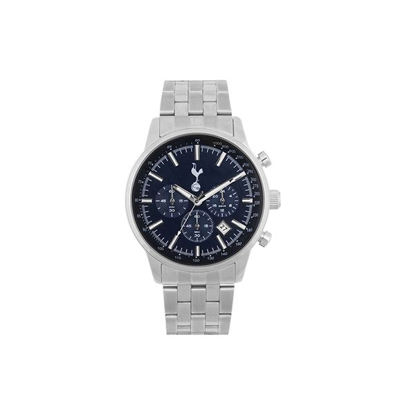 Blue Dial Chronograph Watch Spurs Shop Tottenham Hotspur Official Mens
