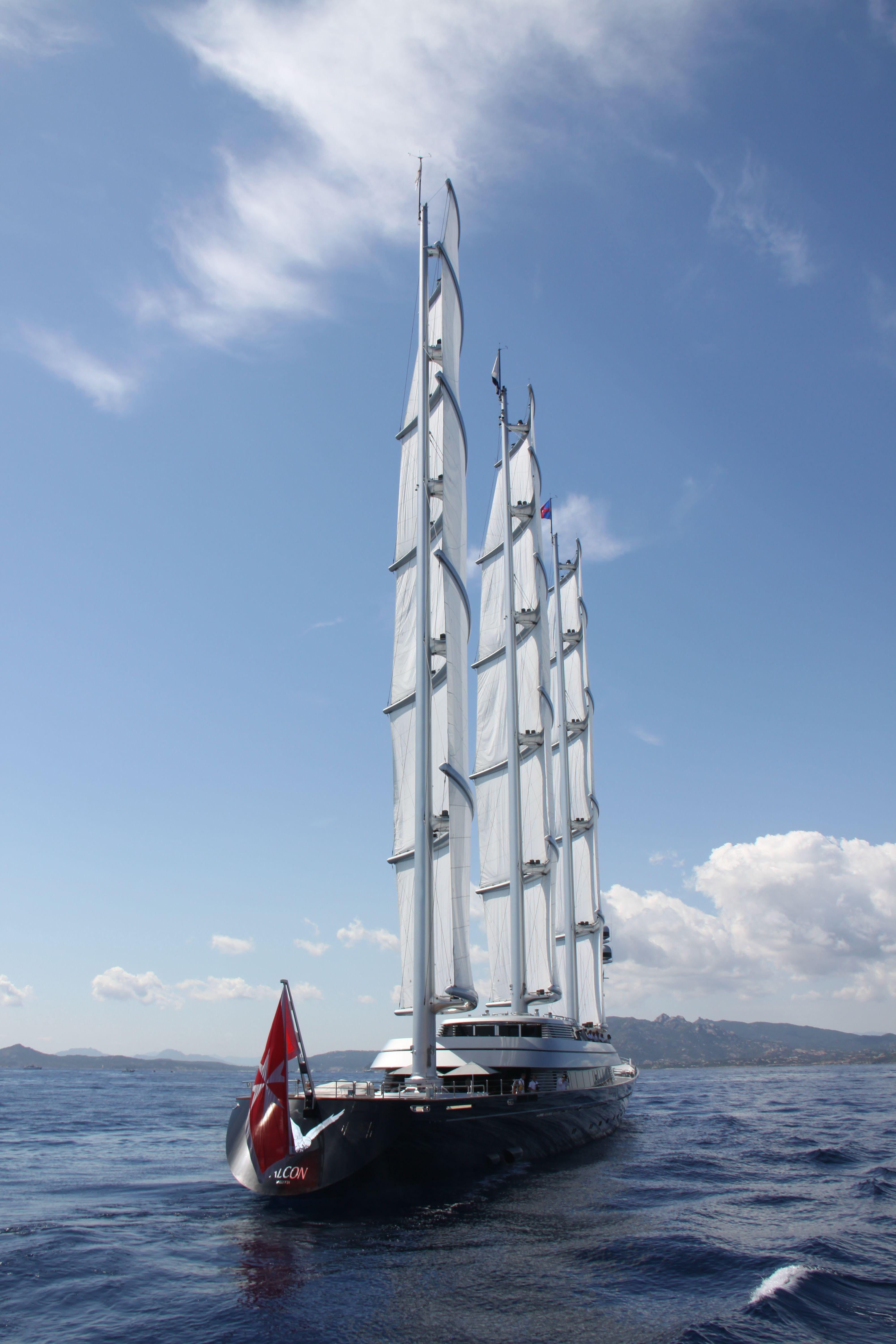 Sailing yacht Maltese Falcon @ the Perini Navi Cup 2013