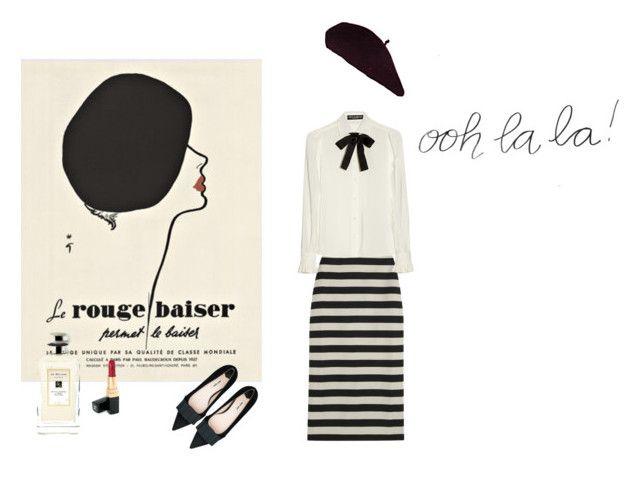 Ooh la la by iamhastya on Polyvore featuring polyvore, мода, style, Dolce&Gabbana, Burberry, Miu Miu, Chanel and Jo Malone