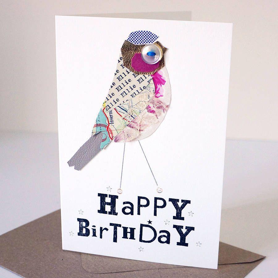 Personalised happy birthday birdie card happy birthday cards personalised happy birthday birdie card bookmarktalkfo Gallery
