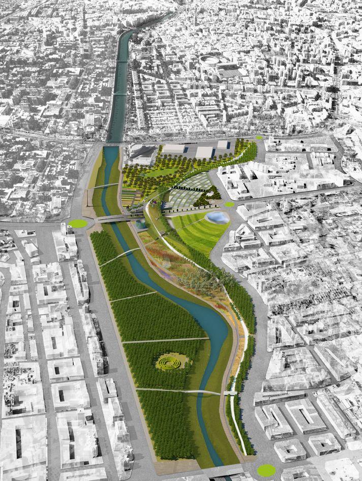 Gallery Of Park Of Levante Master Plan K R Architects 4 Landscape Architecture Diagram Urban Landscape Landscape Plan