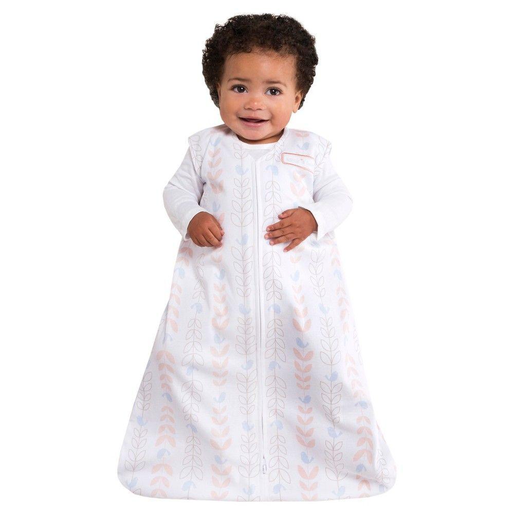 3e59c8cc8c Halo Sleepsack Wearable Blanket 100% Cotton - Soft Pink Bird Life ...