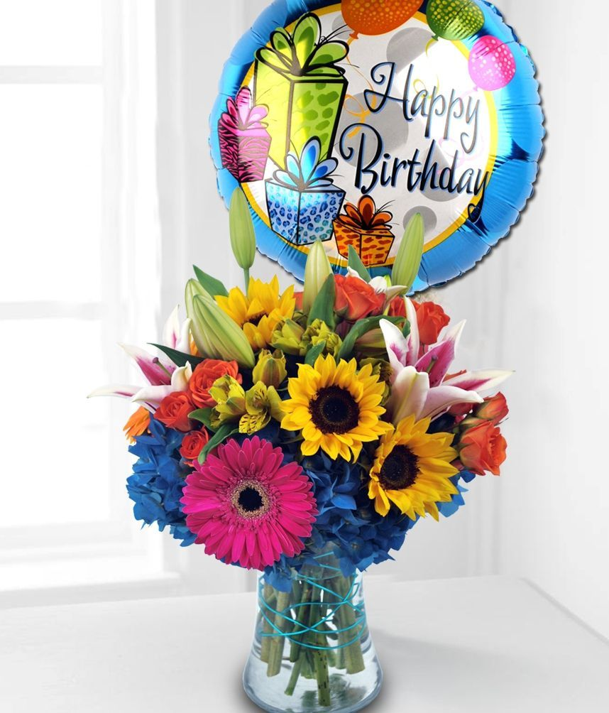 Birthday Flowers Arrangements Gifts Carithers Florists Atlanta Marietta Roswell Alpharetta