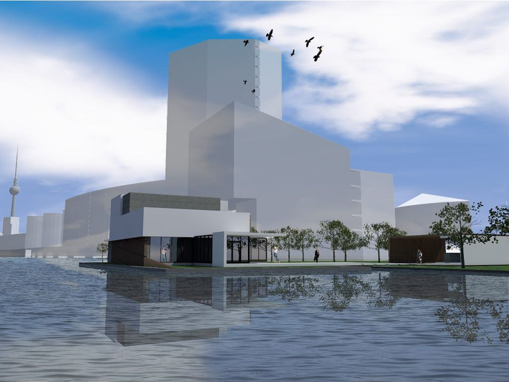 Studio SBA » # Competitie: Floating Theater Berlijn