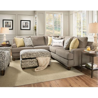 Canora Grey Stockbridge Symmetrical Sectional | Birch Lane
