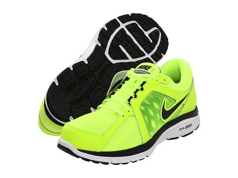 ... vapor sneaker cc1e0 82710 Nike Dual Fusion Run Cool Grey Electric Green  Black 0b6abc7092e2