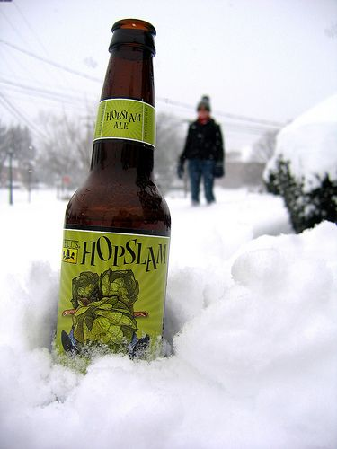 That's Pure Michigan. Hopslam from Bells Brewing.