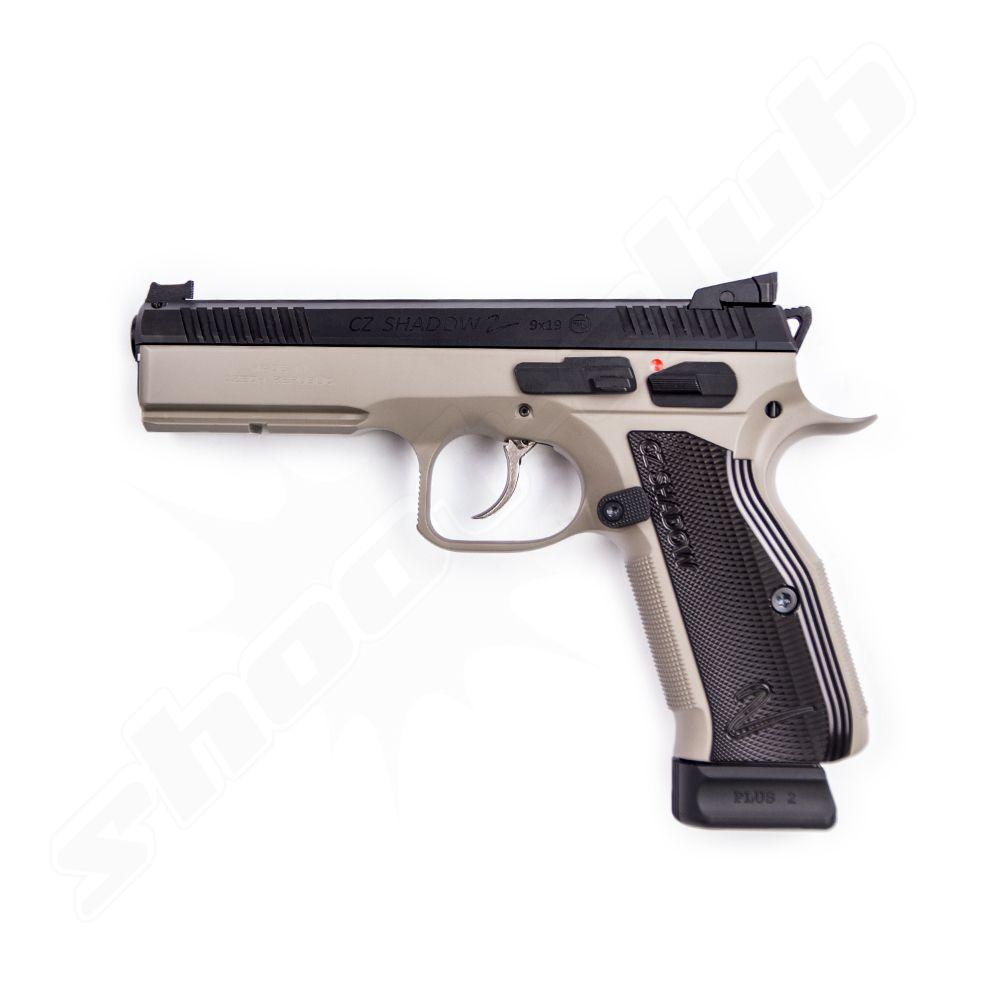 cz shadow 2 urban grey pistole kal 9mm luger. Black Bedroom Furniture Sets. Home Design Ideas