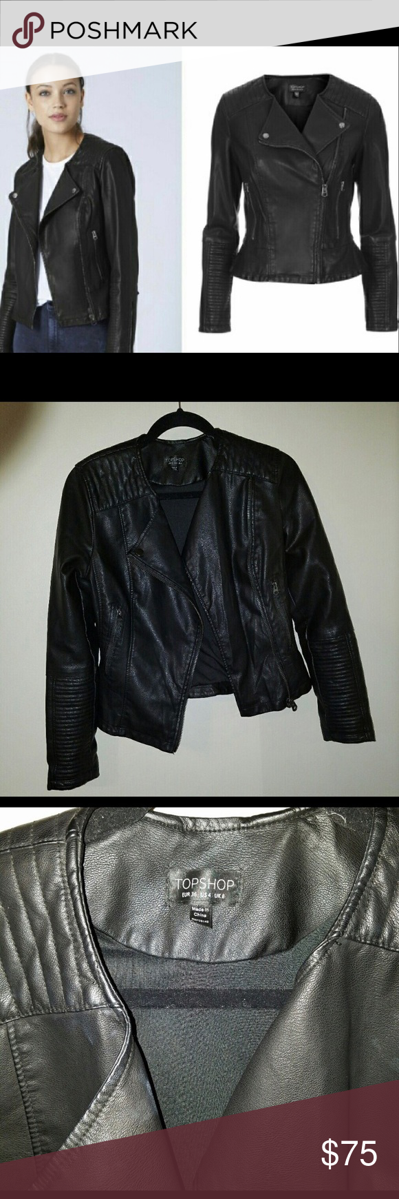 Brand New Leather Jacket Never been worn real