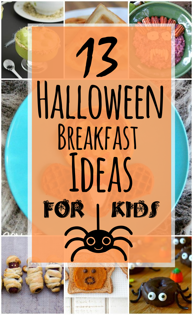 13 Halloween Breakfast Ideas For Kids #halloweenbreakfastforkids 13 Halloween Breakfast Ideas For Kids (Healthy Options, Too!) #halloweenbreakfastforkids