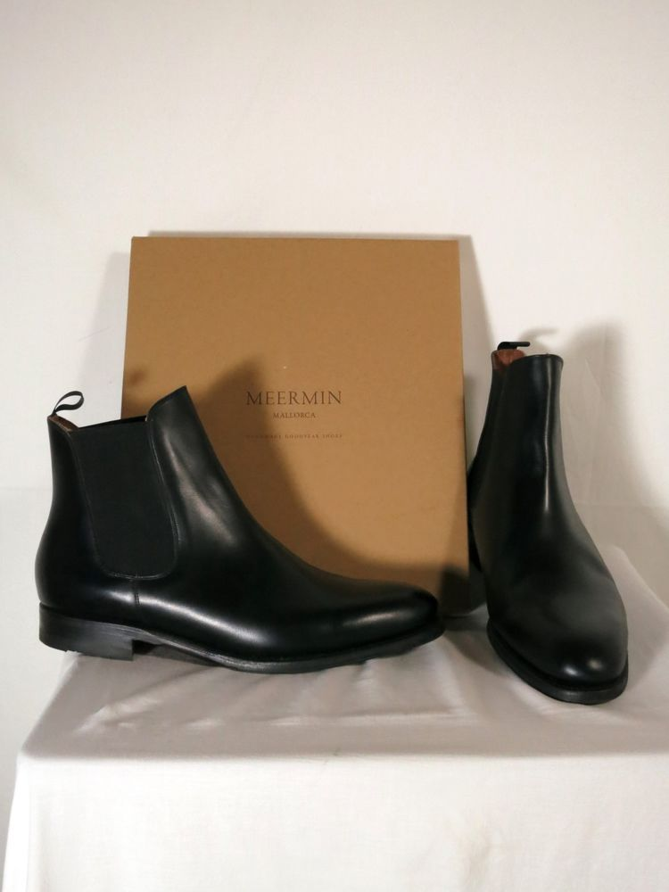 15fca3cdbe6 Meermin chelsea boots 10.5 (10 UK) black Hiro last unworn York sole   fashion  clothing  shoes  accessories  mensshoes  boots (ebay link)