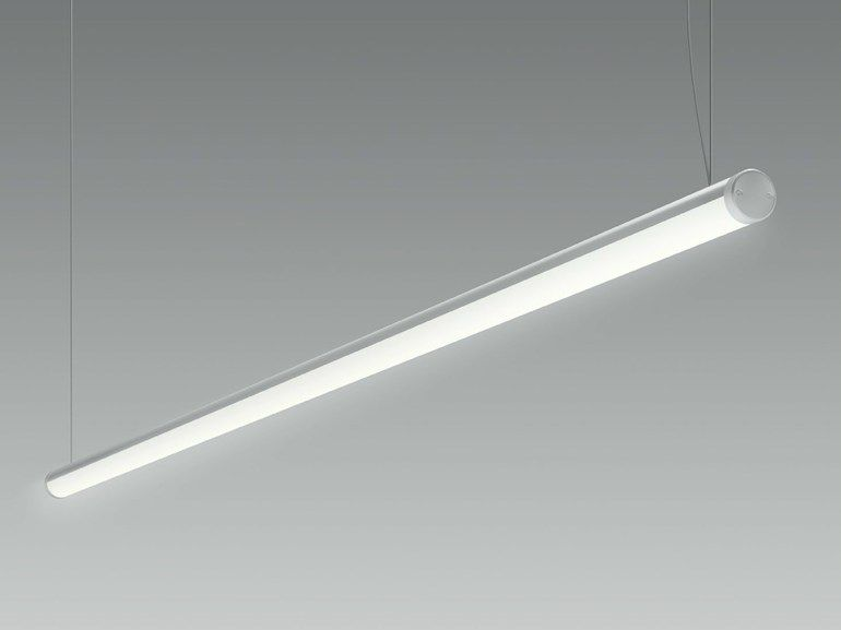 Lampada a sospensione a LED in metallo LINE by Olev by CLM ...