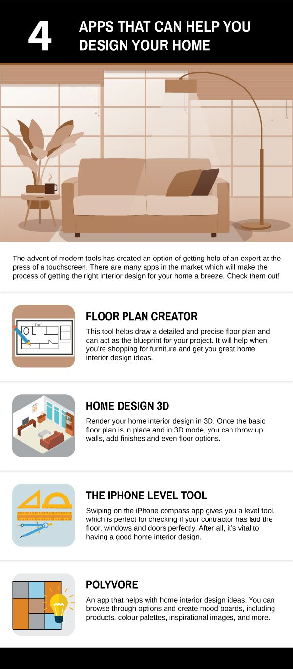 10 Free Home Design Apps | AD India   Check out free home design apps which help you with fresh and unique interior design ideas. The top 10 free home design apps provide necessary tools and ideas.  http://www.architecturaldigest.in/content/10-free-apps-for-home-design/