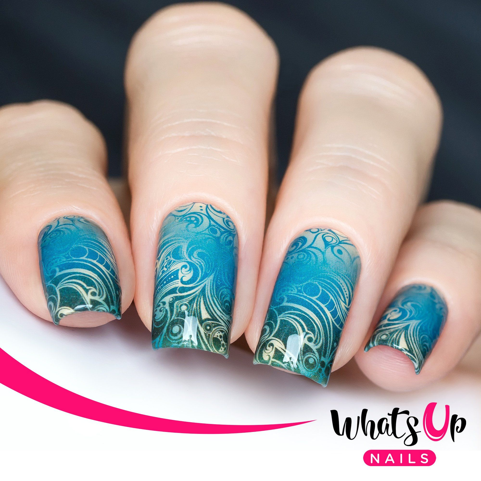 P083 Swirl Sensation Water Decals