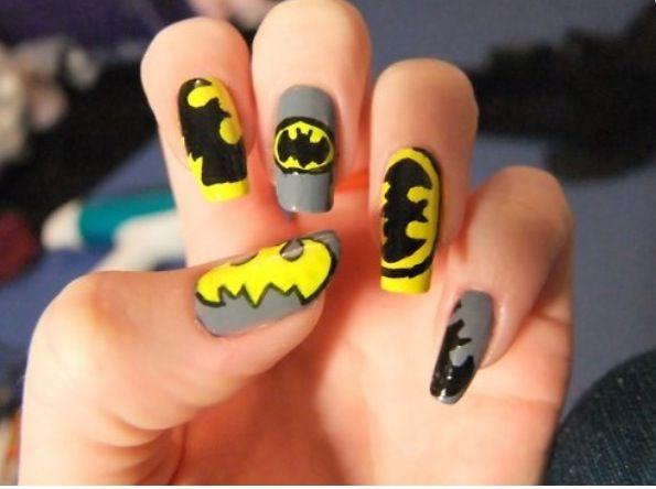 Emo nails - Emo Nails Emo Nails Pinterest Emo, Batman Nails And Makeup