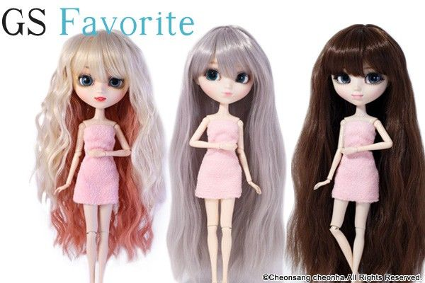 GS favorite:Super Long hair set (006,007,008)
