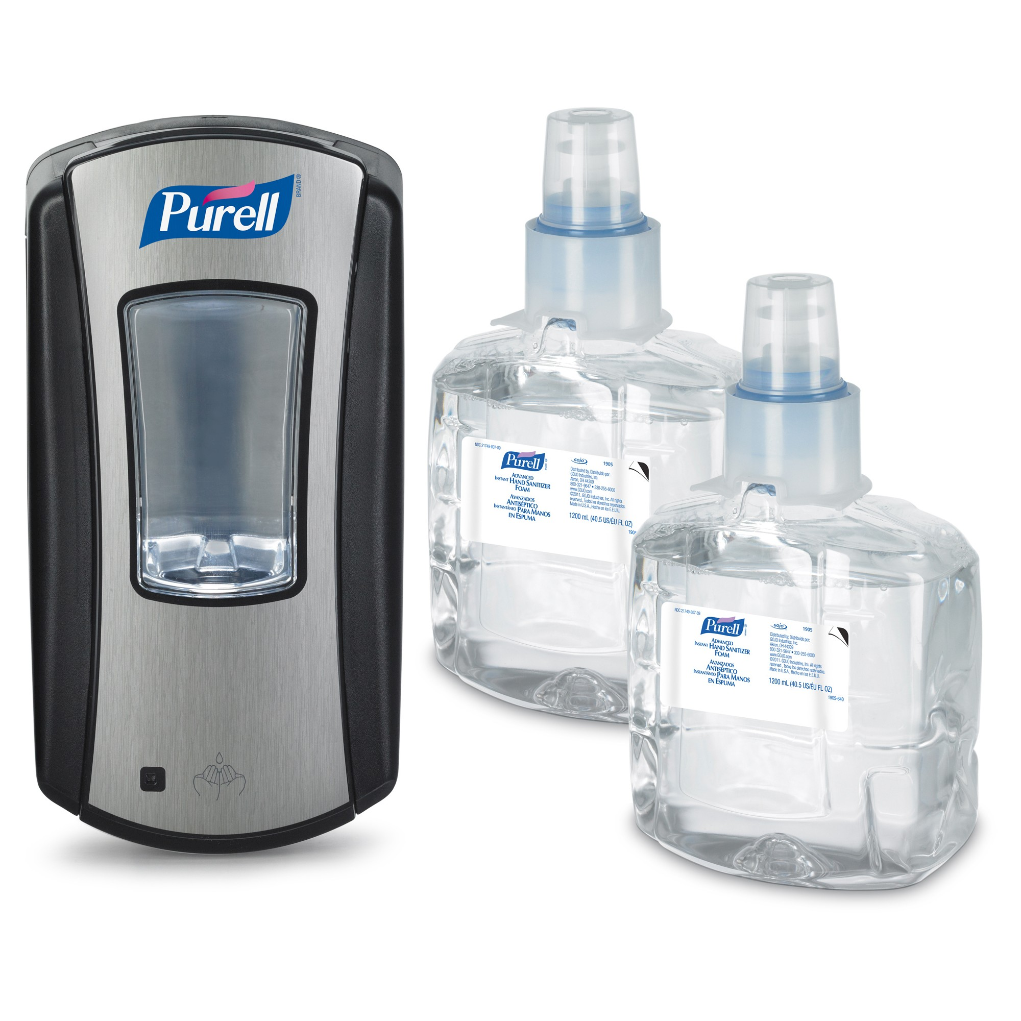 Purell Advanced Hand Sanitizer Foam Ltx 12 Starter Kit Hand
