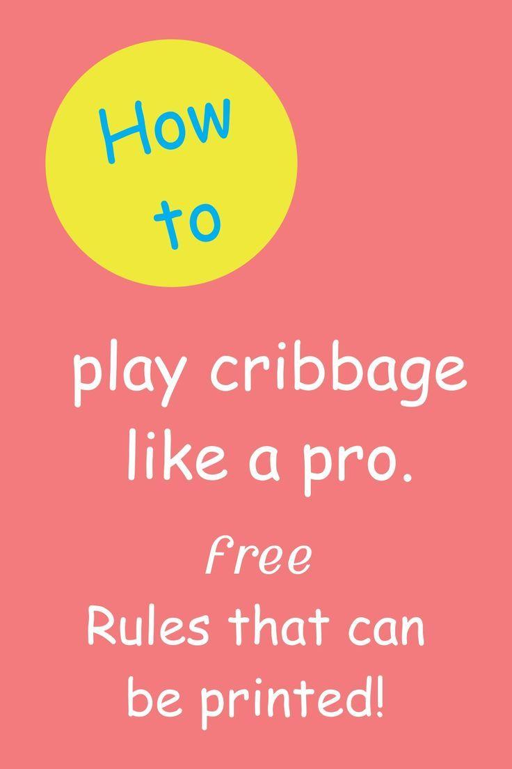 Free cribbage rules cribbage rules cribbage etsy shop help
