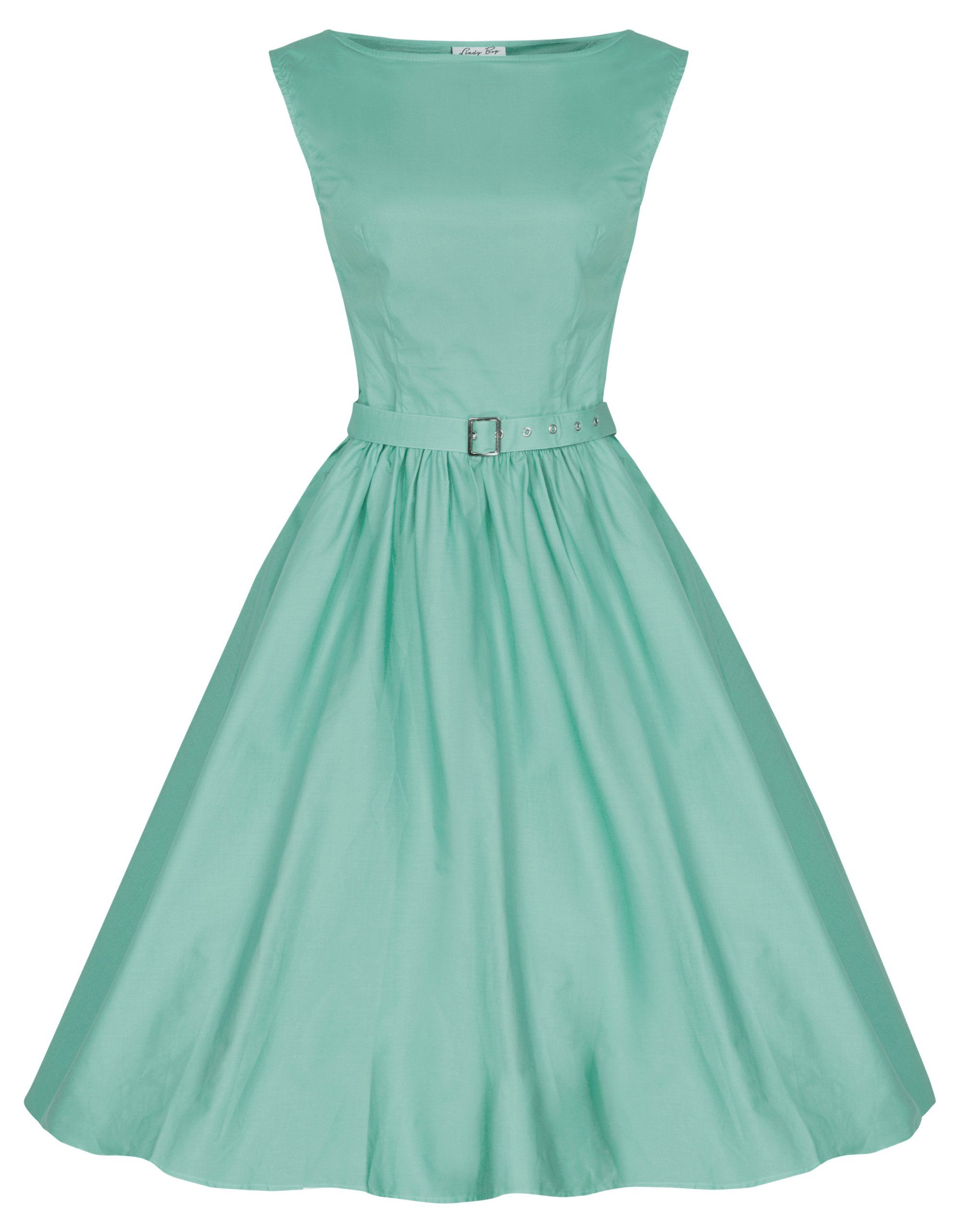 a7c416fd5182 Lindy Bop  Audrey  Hepburn Style Vintage 1950 s Pastel Rockabilly Swing  Dress (S