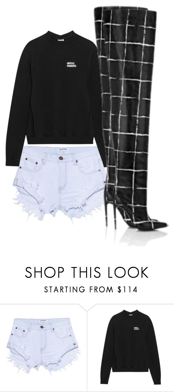 """Untitled #680"" by larryisreal123 ❤ liked on Polyvore featuring OneTeaspoon, Vetements and Balenciaga"