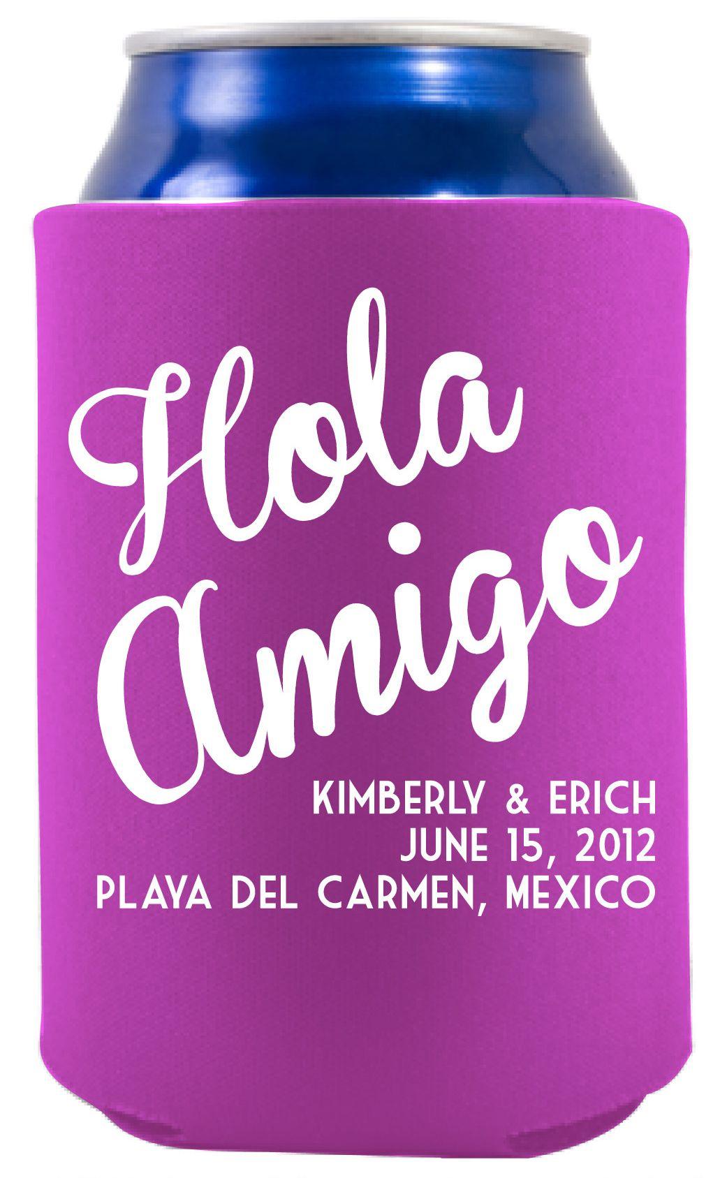 Hola Amigo - Desitination Wedding Ideas - Wedding Favor - Playa Del ...