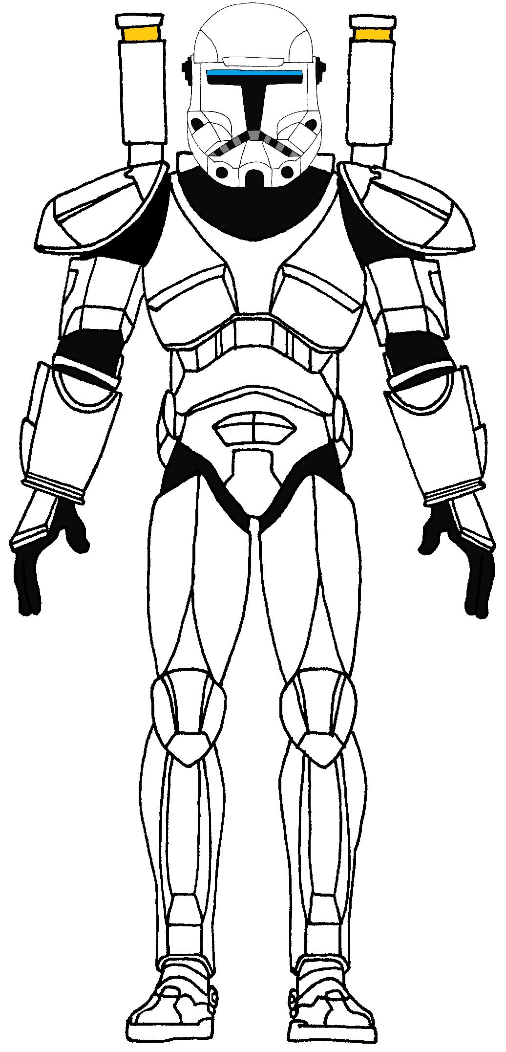 clone commando standard body 1 star