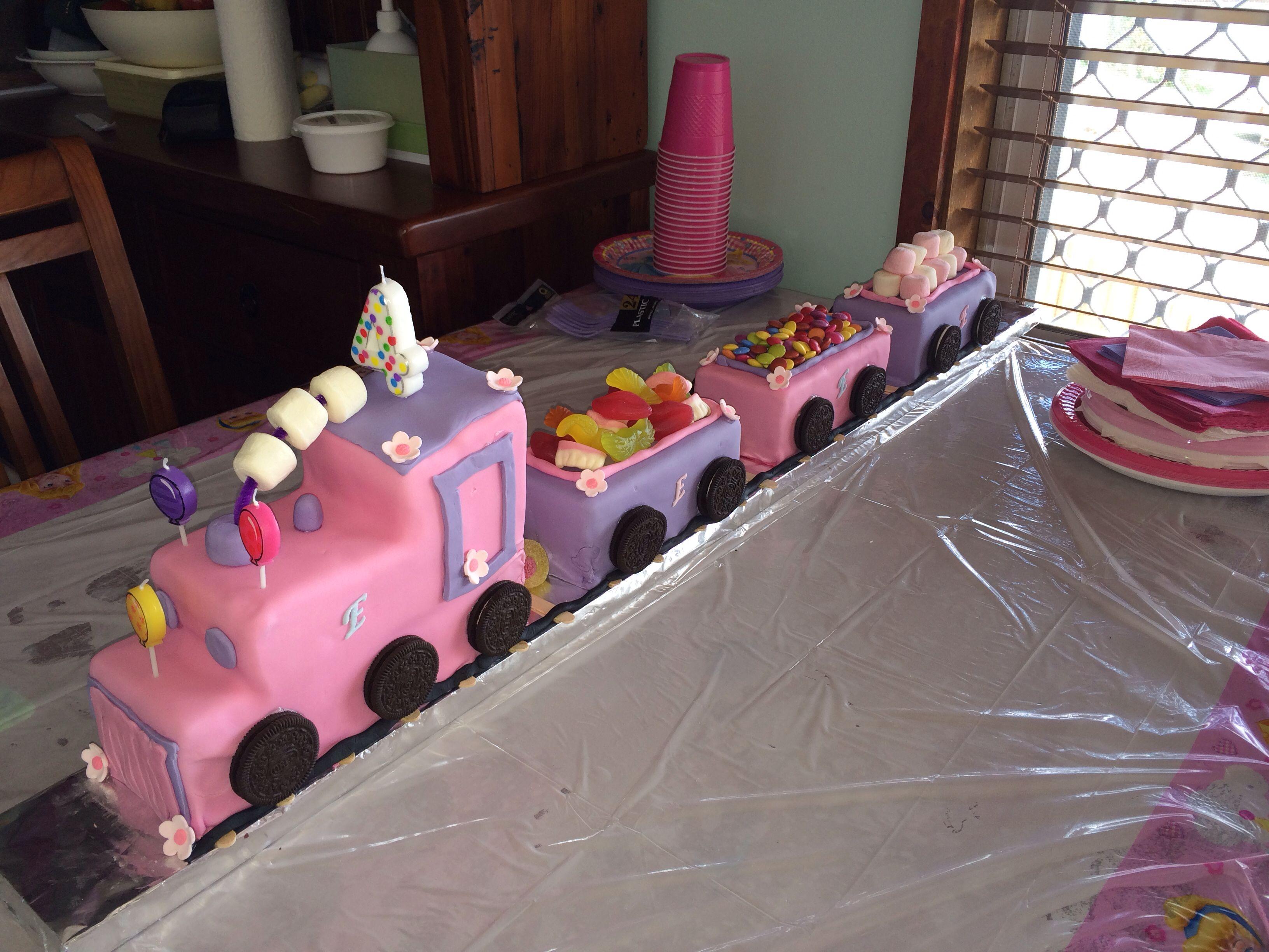 D Train Cake Tin