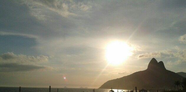 Por do sol!