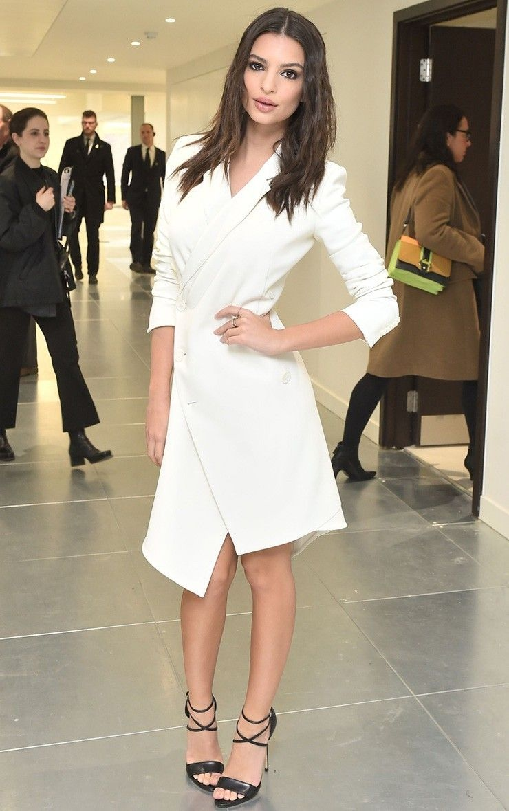 Maryam Black Longline Asymmetric Zip Front Blazer Dress Image 2