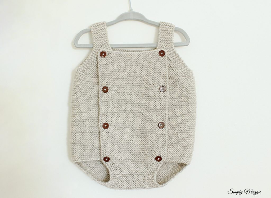 Knit Baby Romper Pattern Simplymaggie Com Baby Romper