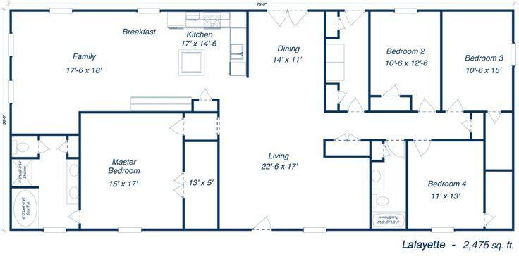 Large Two Story Barn Home Plans Barndominium Google Search Metal Homes Floor Plans Barndominium Floor Plans House Plans