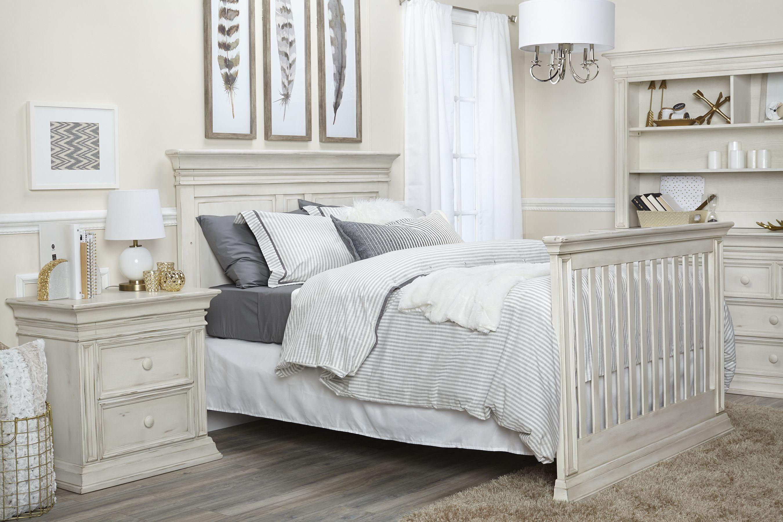Baby Cache Vienna Full Bed In Antique White Babycache Crib