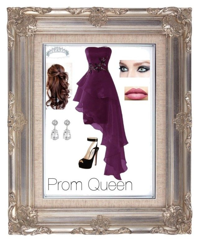 """""""Prom Queen"""" by kaitlyn124 on Polyvore featuring Prada, Bling Jewelry, TheBalm and Kenneth Jay Lane"""