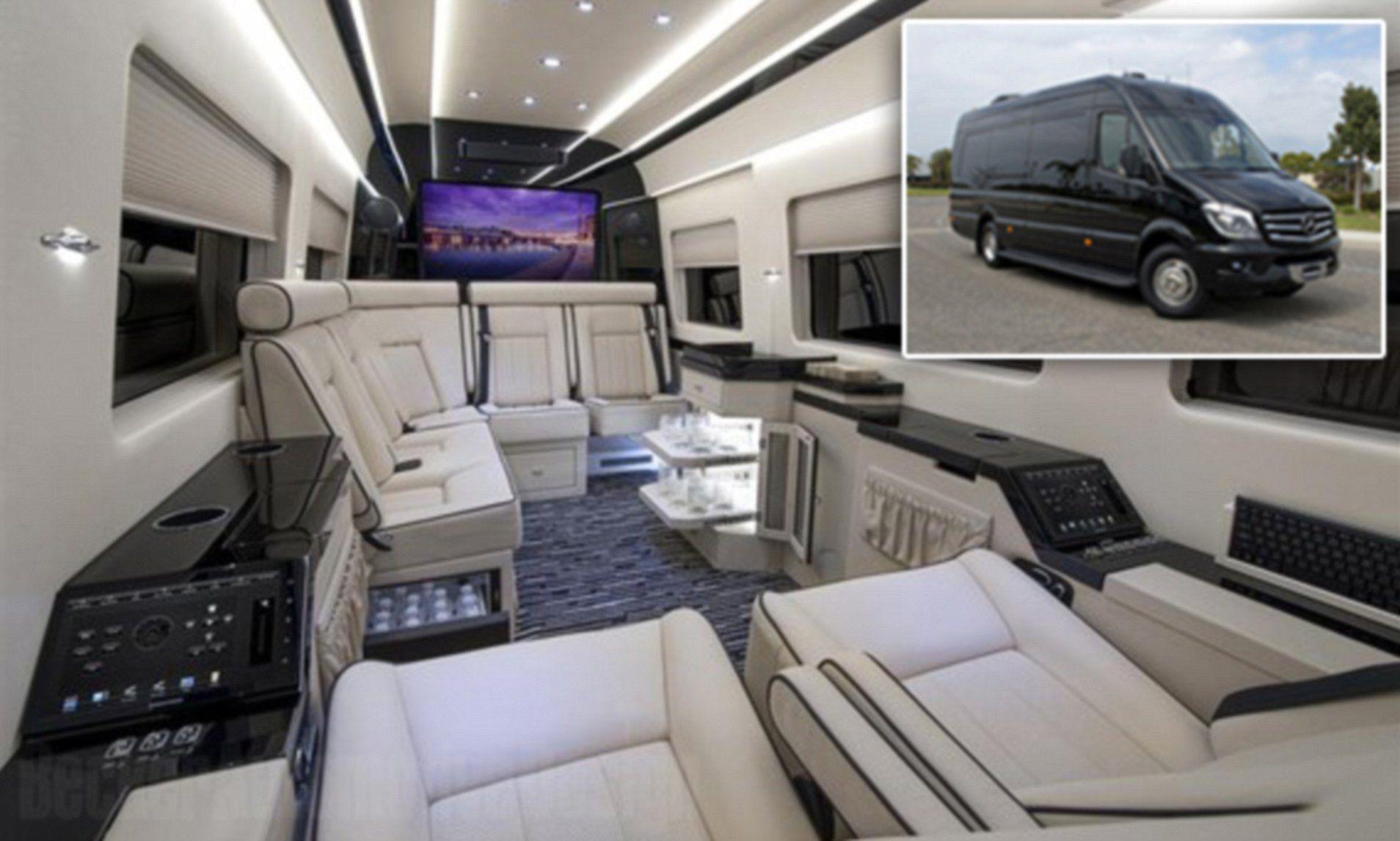 Vantastic Inside The 400 000 Mercedes Private Jet Of Vans In