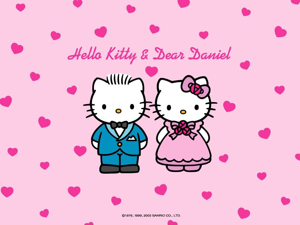 Hello Kitty & Dear Daniel (her BF)
