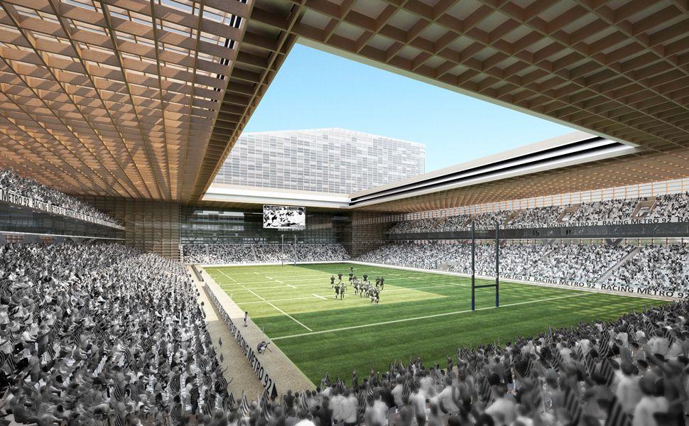 Arena Stadium / Atelier Zundel Cristea #timber #architecture