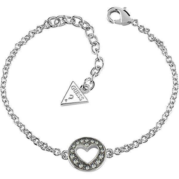 7633657fe653f Guess G Girlguess fine mesh bracelet silver with Swarovski. 15€