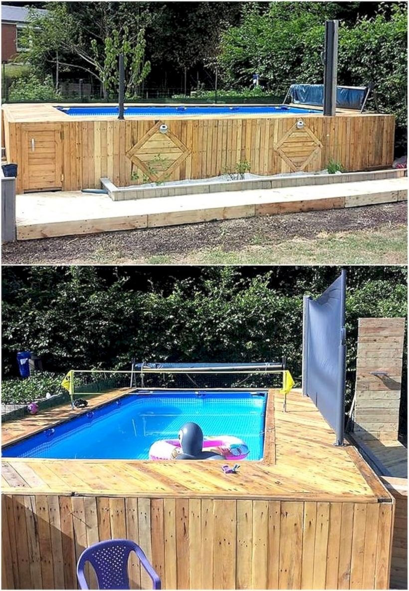 45 How to Build Deck with Pallet Project Ideas