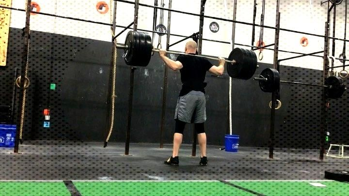 SquattttttsxSquatts  A couple clips from training this week. New Overhead squat PR of 305lb should