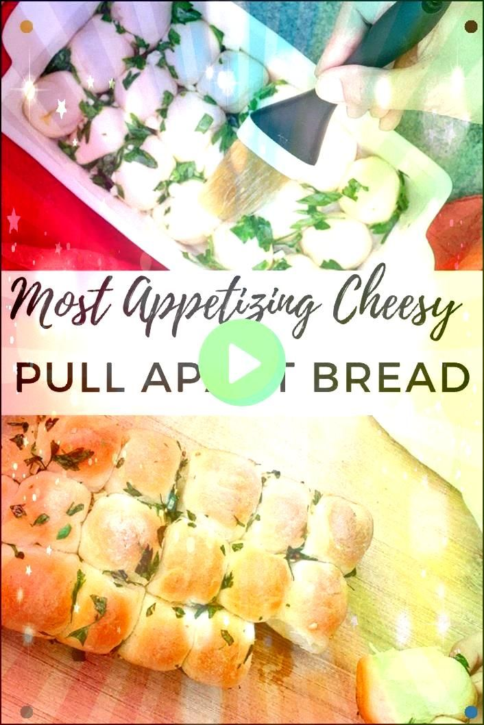 Pull Apart Bread Is Your New Addition To Your Repertoire Picnic Appetizer Potluck Or Bbq With Friends All Excuses To Make And Eat This Easy To Prepare Delicious BreadChee...