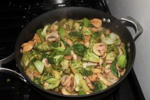 A quick, easy and flavorful dish - Lemon Ginger Stir Fry