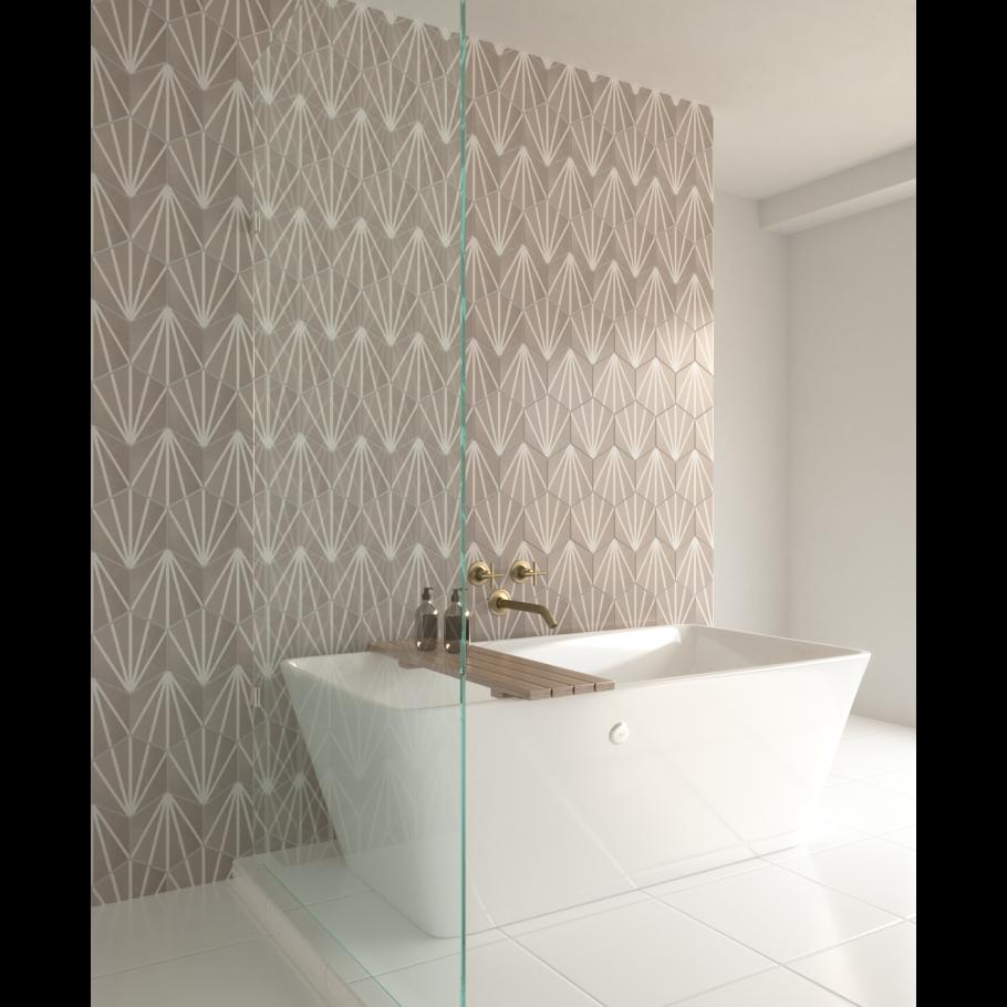 Hexart Deco Gris 8 Porcelain Matte Tile In 2020 Matte Tile Hexart Cleaning Tile Floors